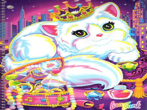 Lisa Frank wallpapers to your cell phone   cat girly lisa frank 510x383