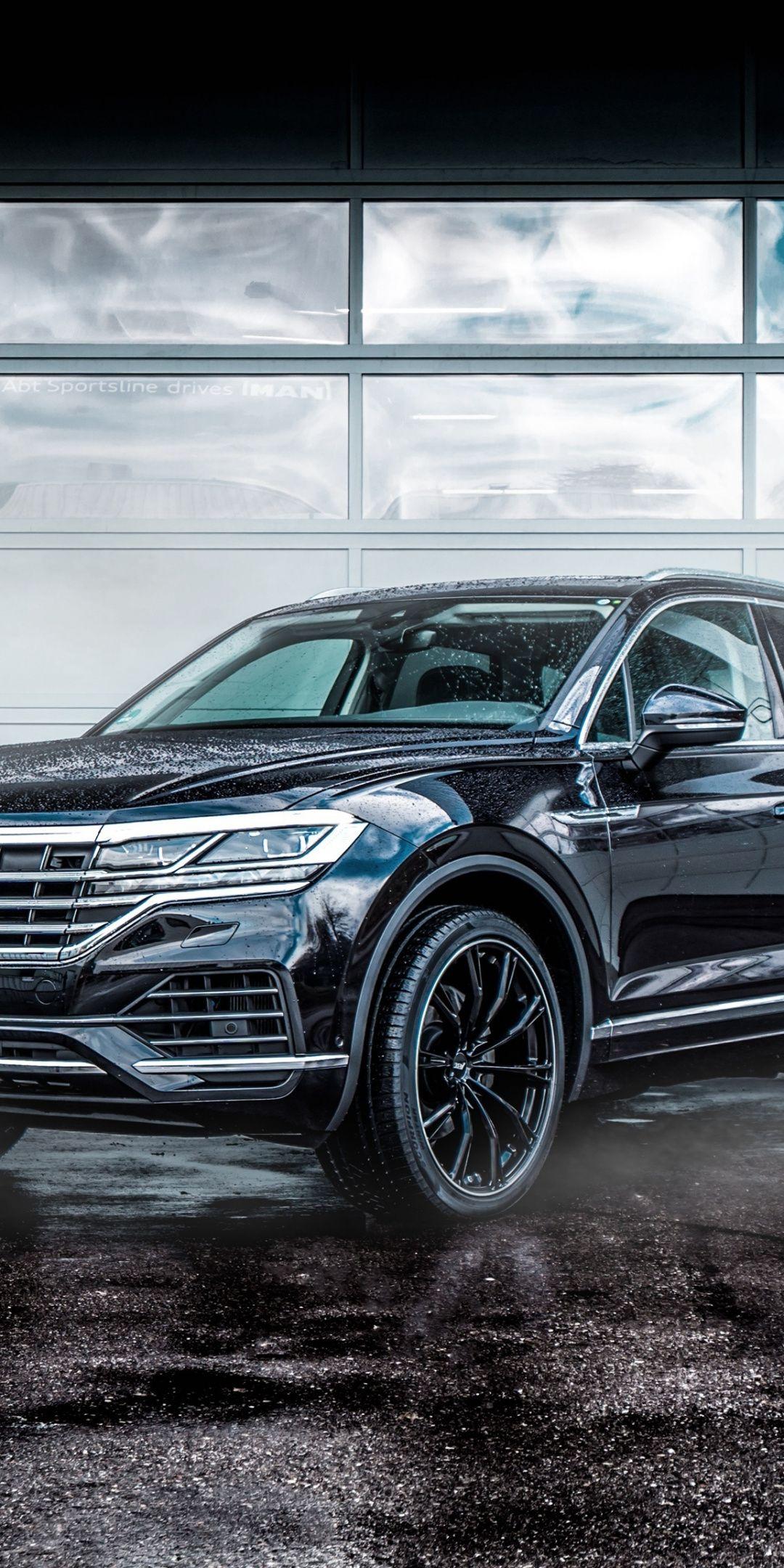 ABT Volkswagen Touareg black 1080x2160 wallpaper Cars 1080x2160