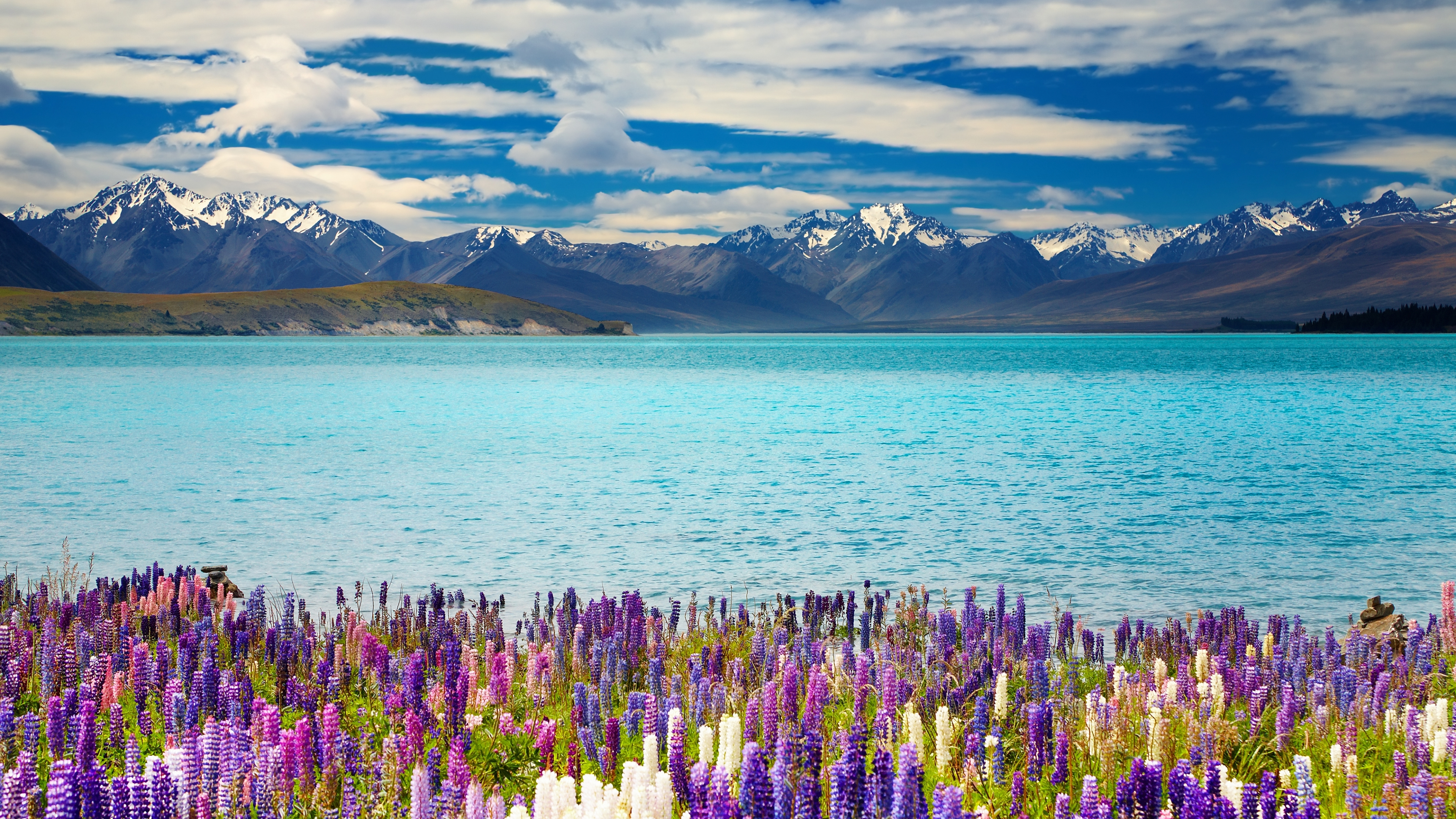 Zealand Lake Tekapo Ultra HD 4k Wallpaper 3840x2160   HD Wallpapers 3840x2160