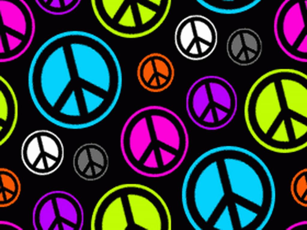 Peace Sign Desktop Backgrounds 1024x768