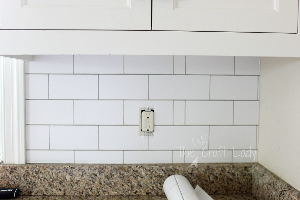 Free Download White Subway Tile Temporary Backsplash The Full Tutorial The 1024x683 For Your Desktop Mobile Tablet Explore 58 Removable Wallpaper Tiles Peel And Stick Wallpaper Removable Wallpaper For