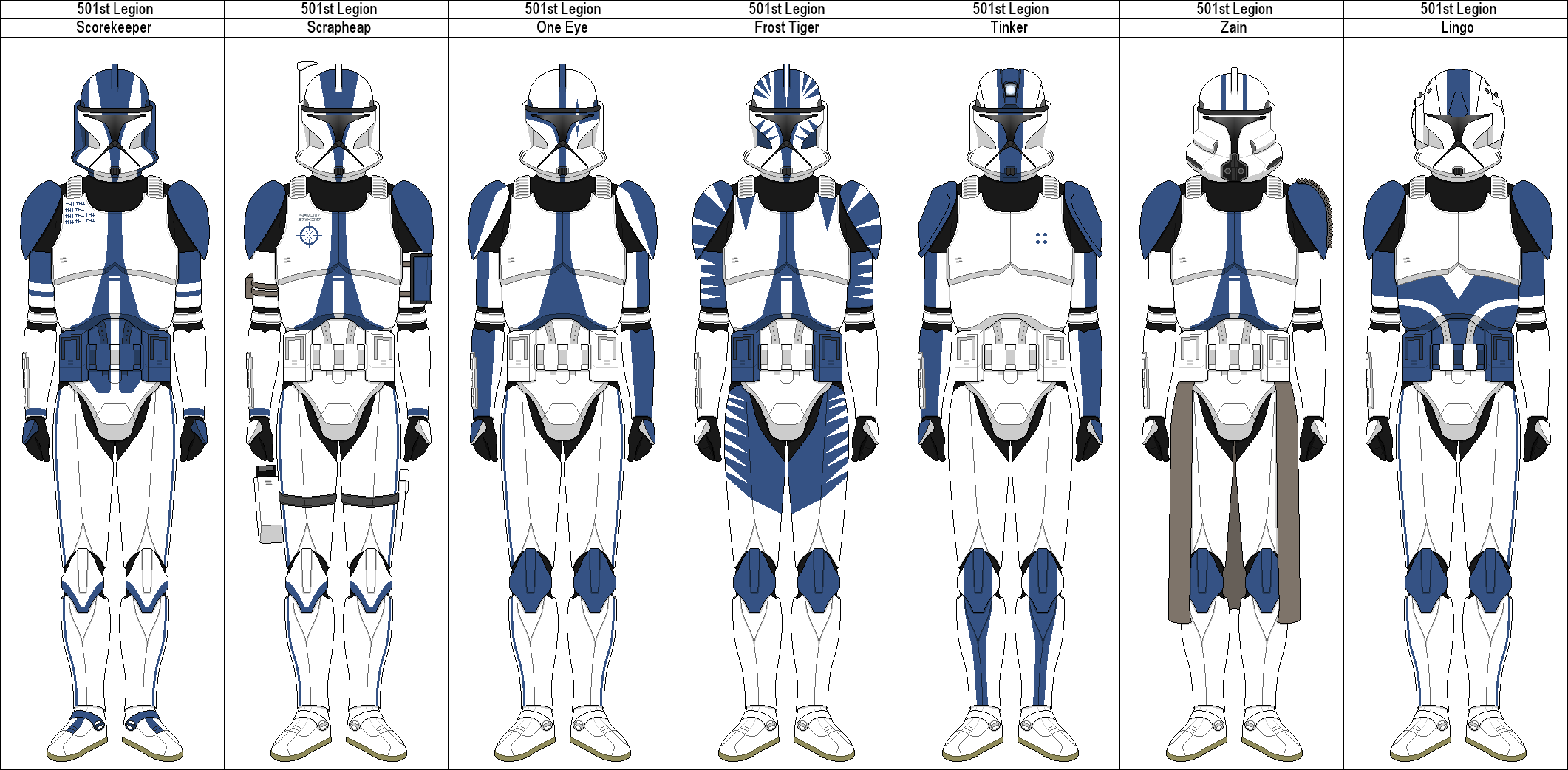501st Wallpaper 100 images in Collection Page 1 2122x1042