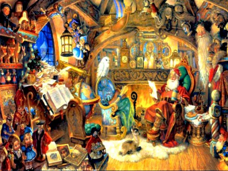 Wallpaper for Xmas and Holidays Santa Claus   Santa Claus   Wallpaper 740x555