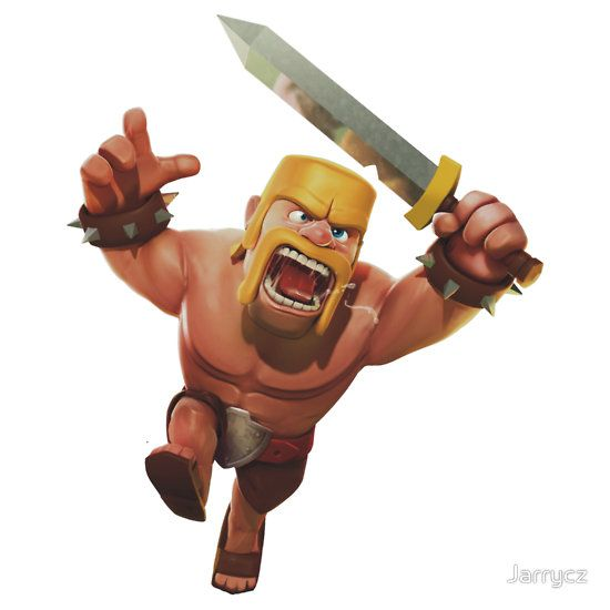 Wallpaper Barbarian Clash of Clan Clash of Clans Barbarian 550x550