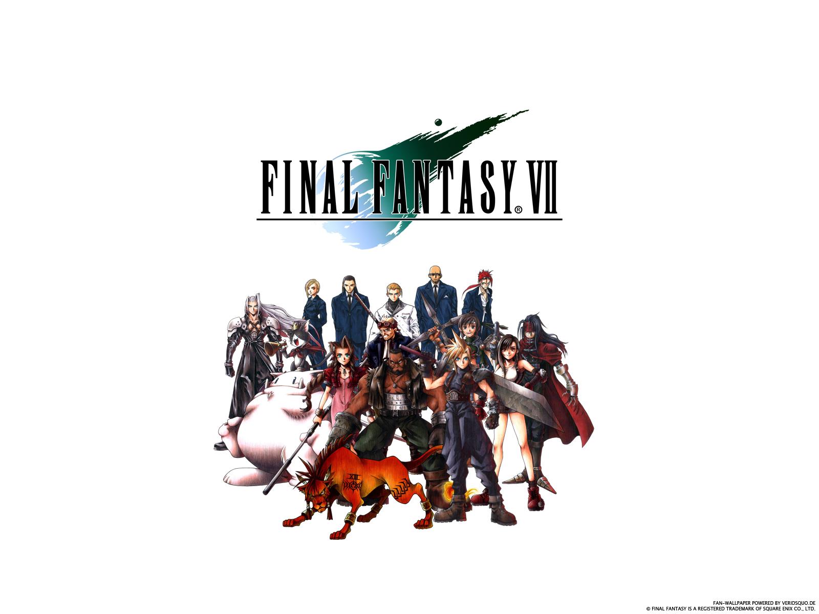 Final Fantasy VII Wallpaper by Xiuvera 1600x1200