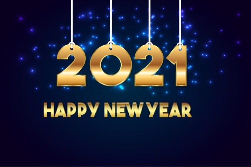 Stunning Happy New Year Images 2021 in 2020 Happy new year 1003x669