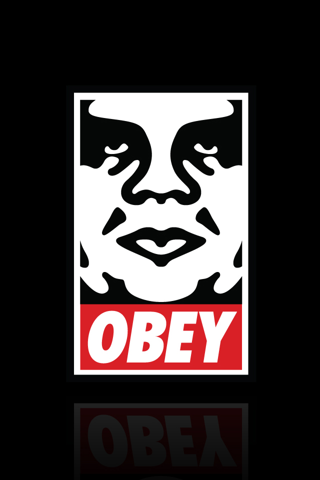 Obey Iphone Wallpaper Hd 640x960 iPhone Wallpaper Gallery 640x960