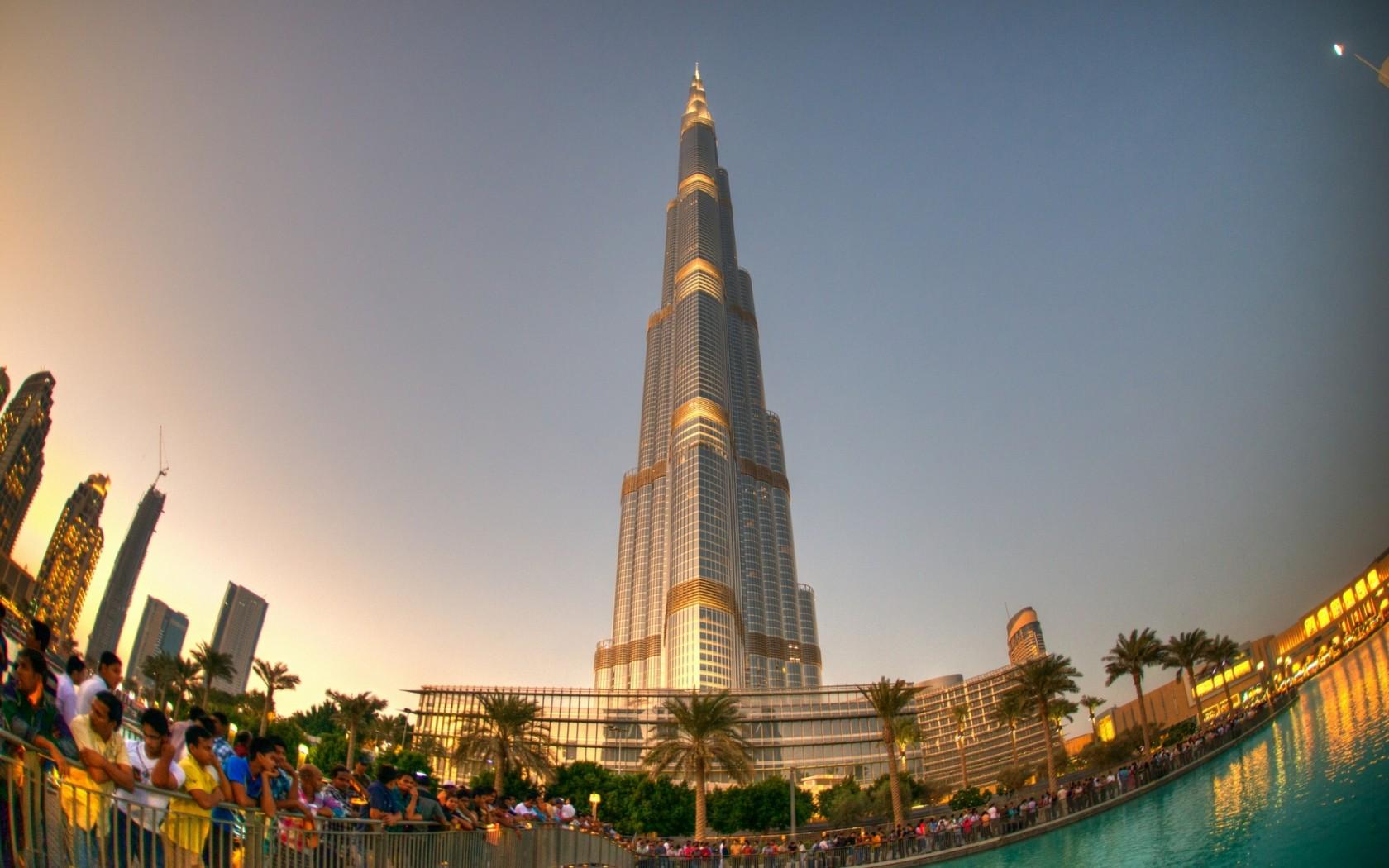 Burj Khalifa View Wallpaper   Travel HD Wallpapers 1680x1050