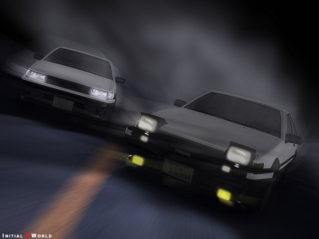 Initial D World   Wallpapers Section 1024x768