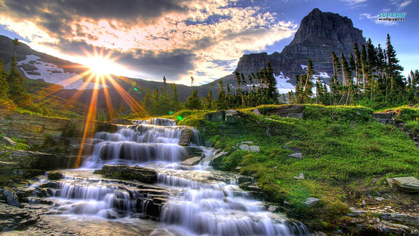 Free download Rocky Mountain Sunris HD