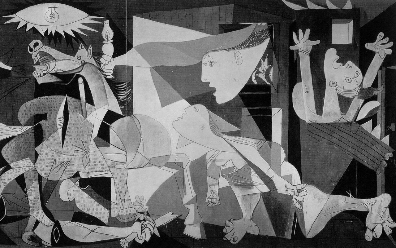 analysis painting guernica picasso and third may goya The paintings are guernica by pablo picasso and similarities and differences between guernica picasso and third of may by fransisco goya.