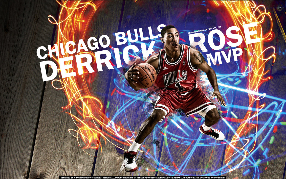 Derick Rose MVP Widescreen Wallpaper Big Fan of NBA   Daily Update 1131x707