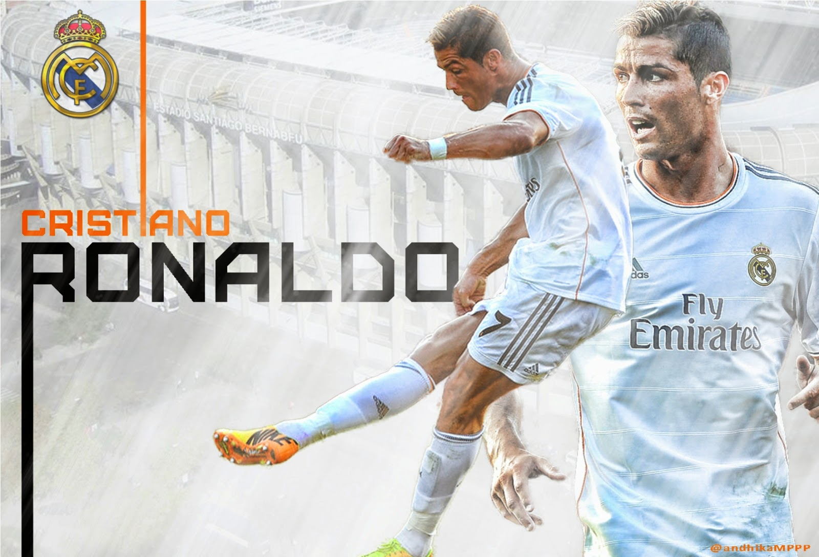 Real Madrid Cr7 2015 Hd Images 10 Powerful Ronaldo Wallpapers hd 2 1600x1088