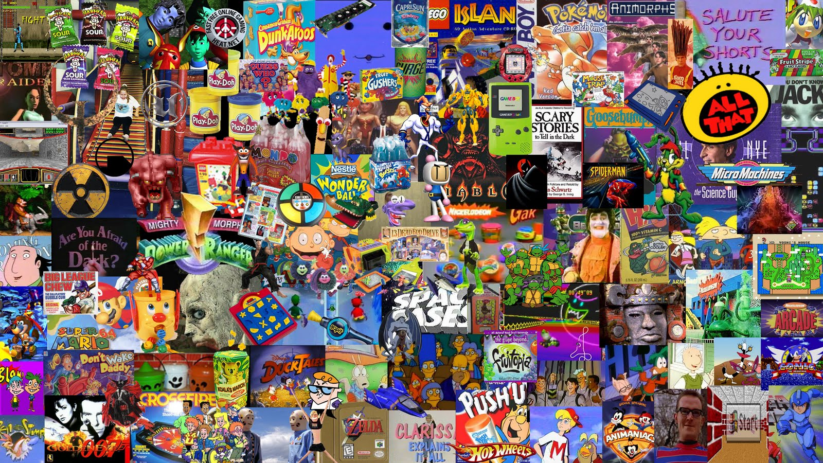 90s Computer Wallpaper Use as a wallpaper a year 1600x900