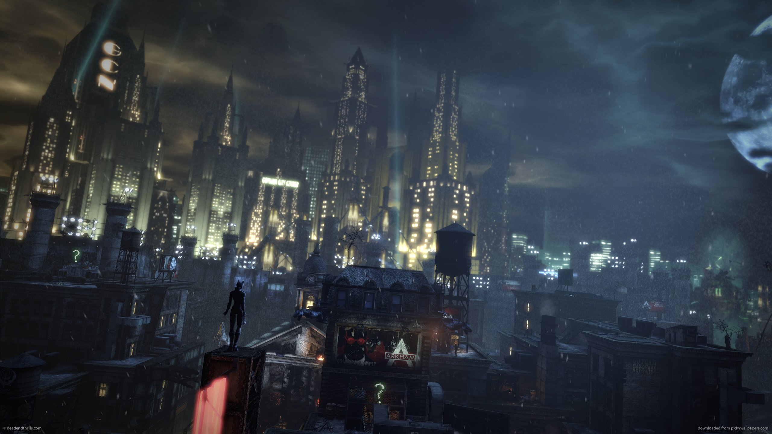 Catwoman Wallpaper Arkham City Batman 2560x1440