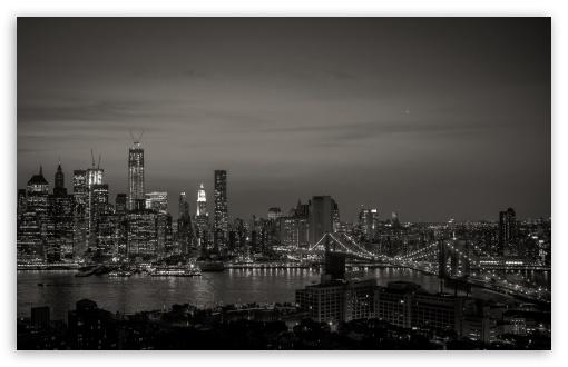 New York City Black and White HD desktop wallpaper Widescreen High 510x330