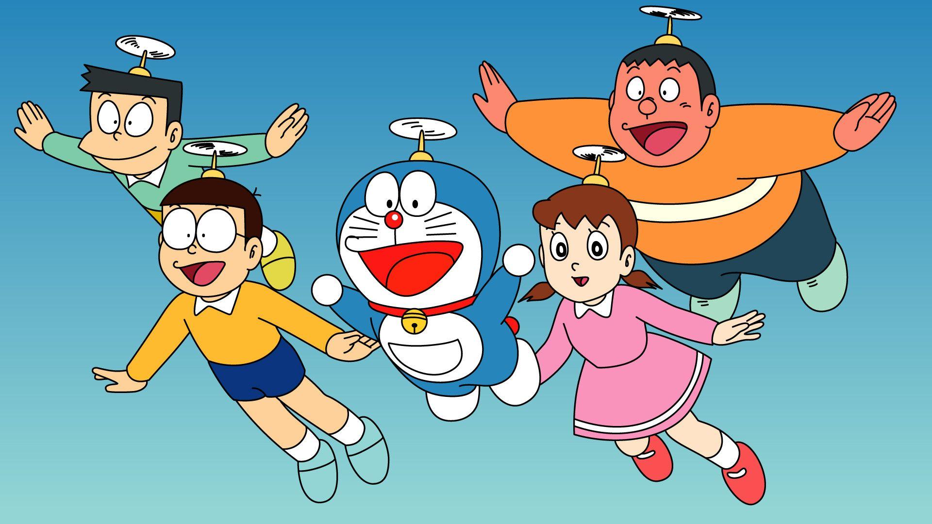 Doraemon And Friends Wallpaper Wallpaper HD Best Wallpaper 1920x1080