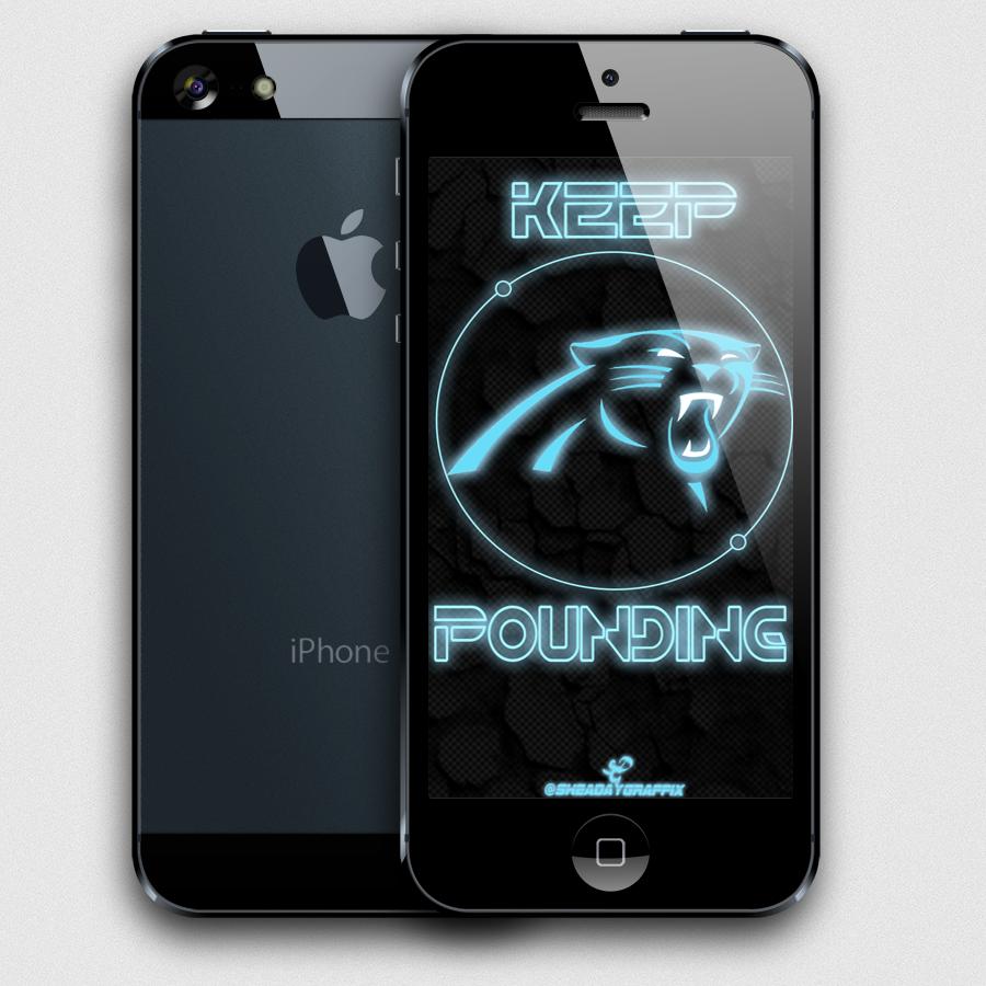 Carolina Panthers iPhone Wallpaper Flickr   Photo Sharing 900x900