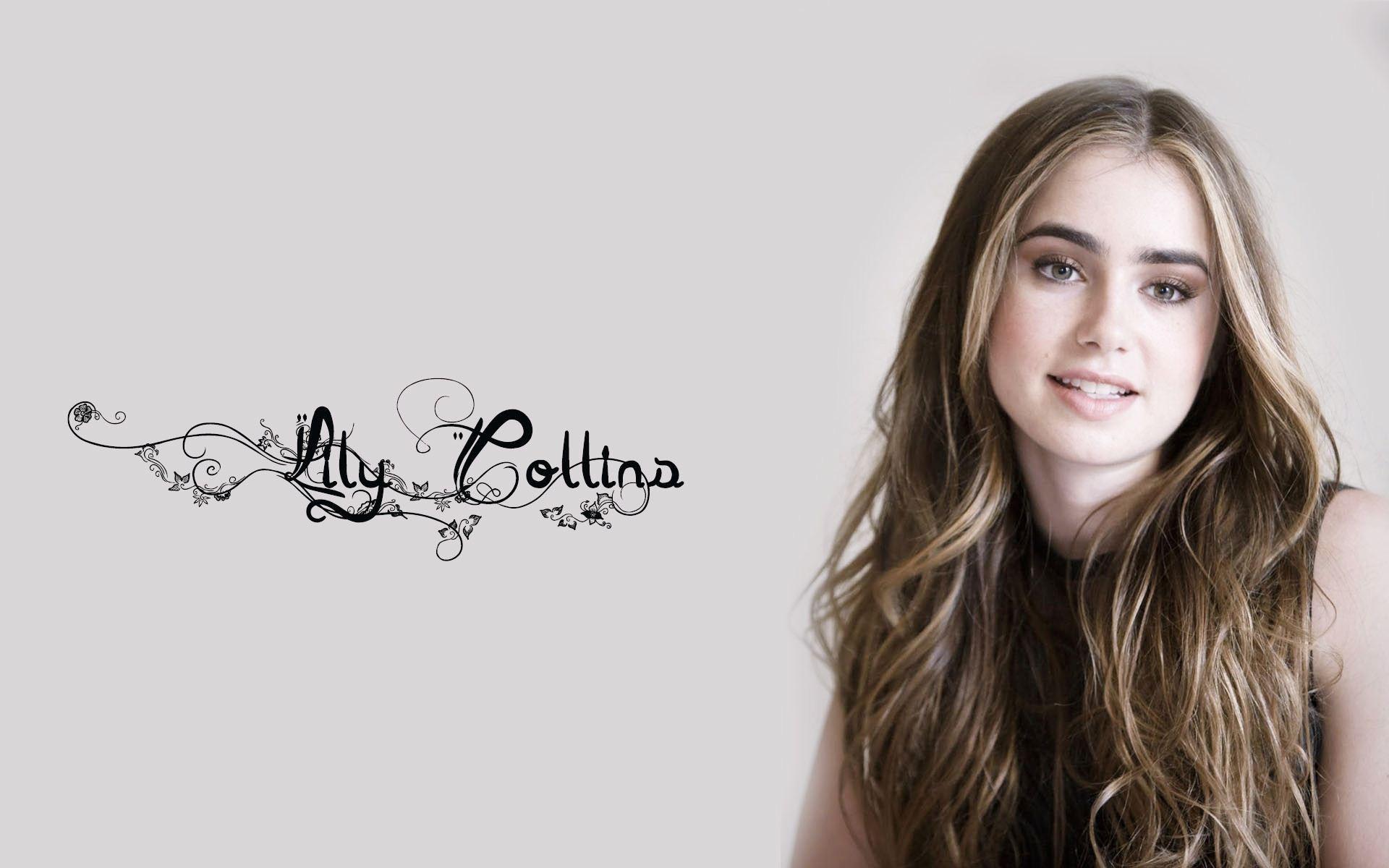 lily collins 2014 desktop wallpaper 1920x1200
