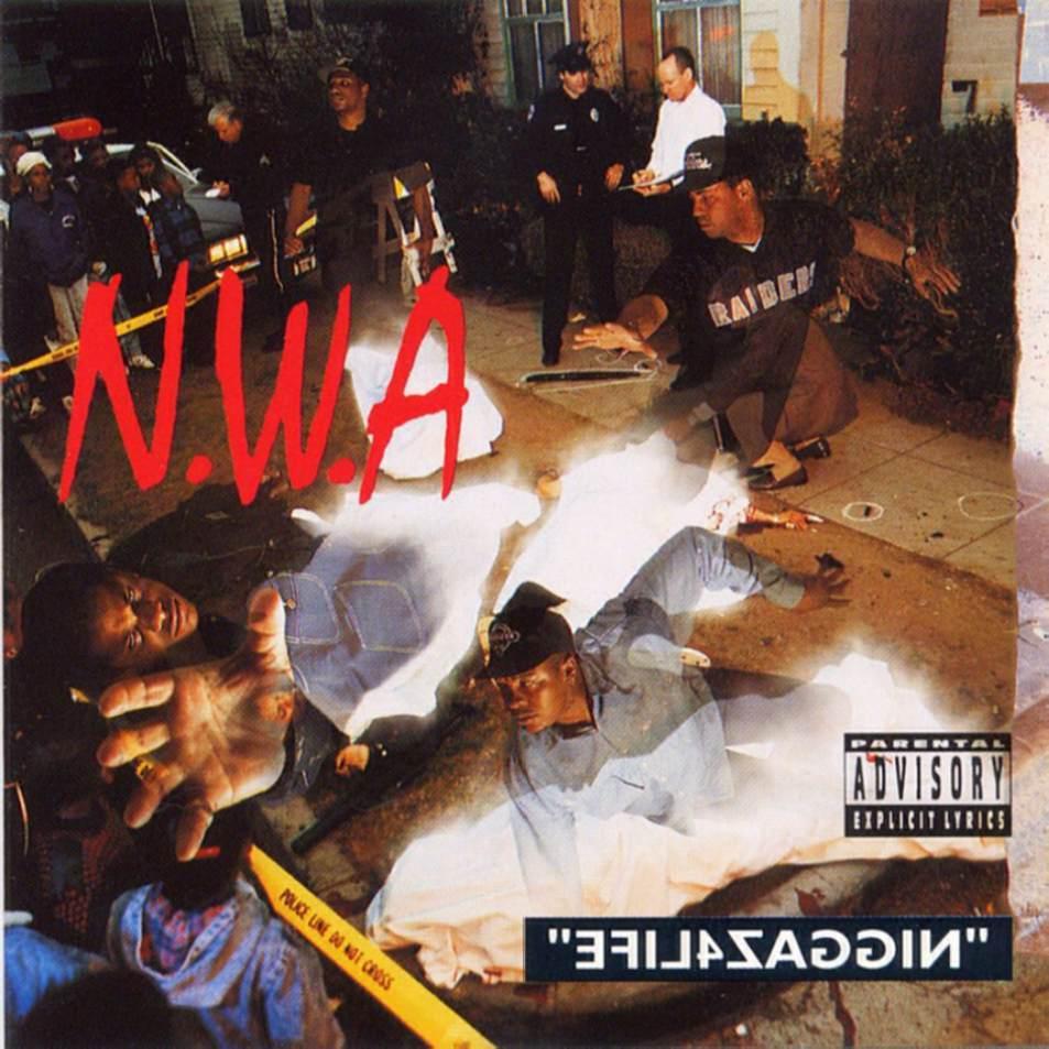 Second album NWA Niggaz4Life   under magazine 953x953
