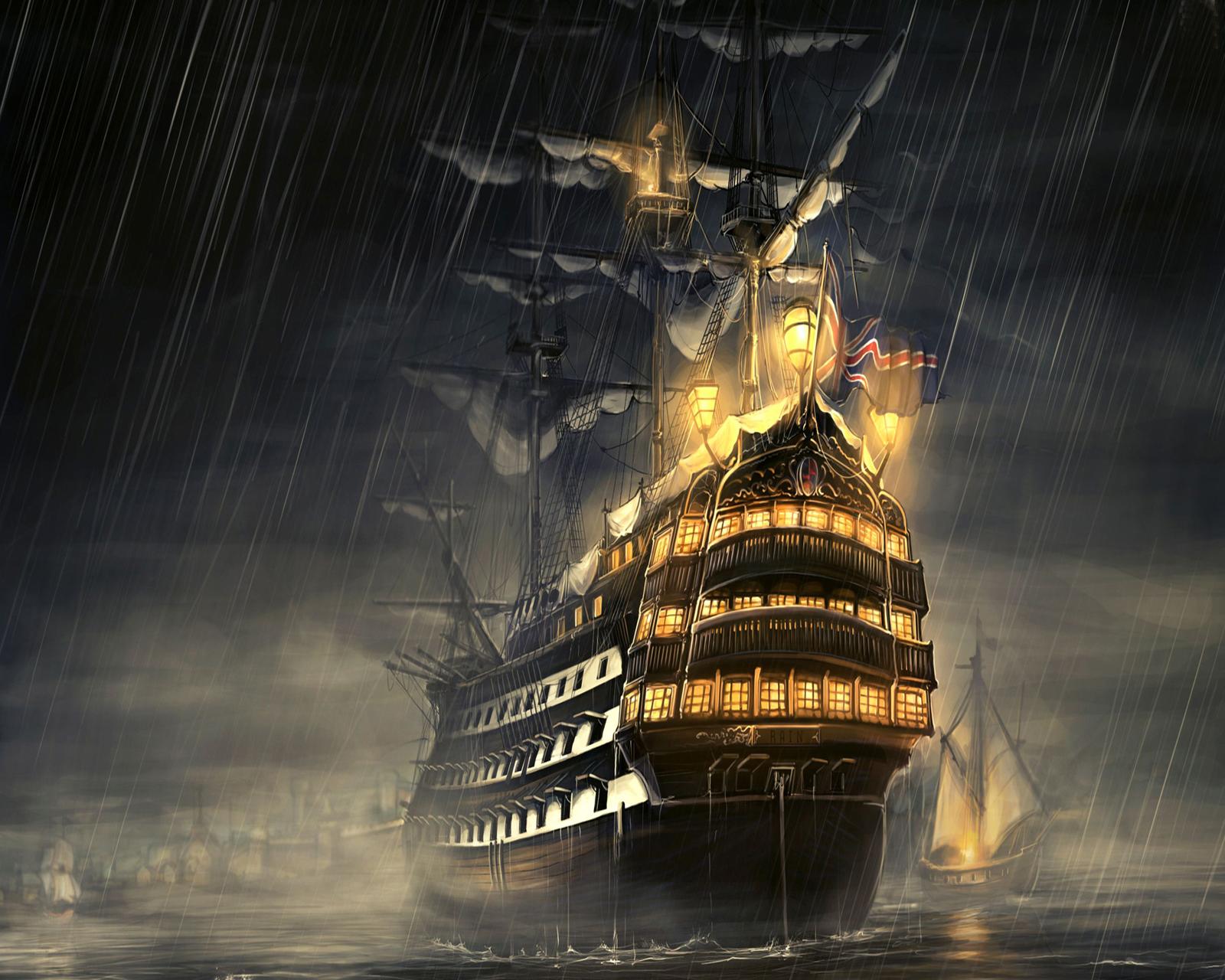 pirate ghost ship wallpaper wallpapersafari