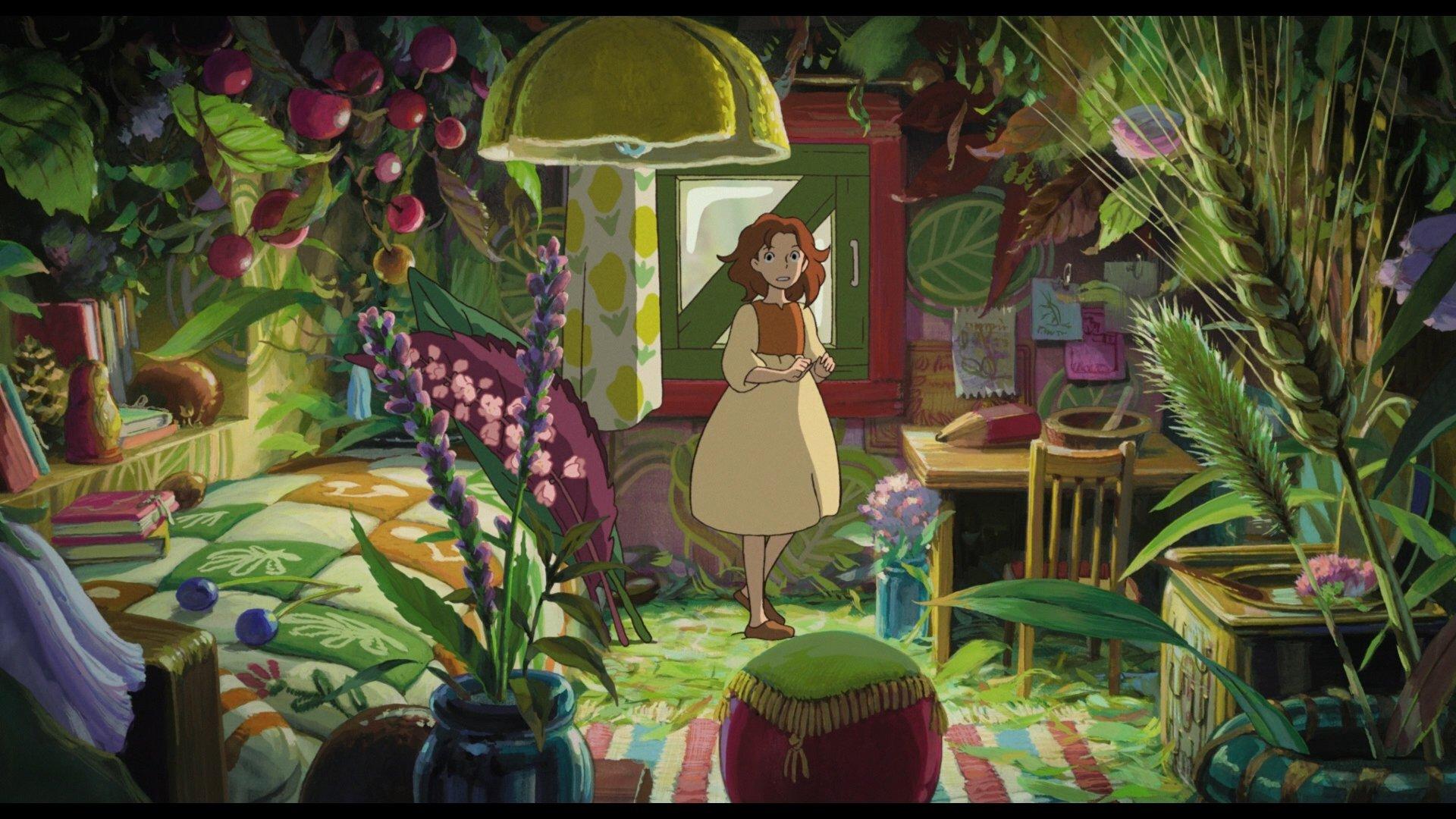 Anime   The Secret World Of Arrietty Wallpaper 1920x1080