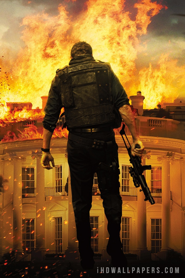 Olympus Has Fallen Movie HD Wallpaper   iHD Wallpapers 640x960