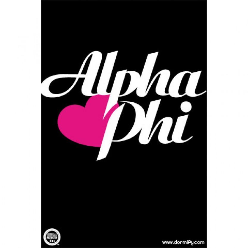 Alpha Phi MobileDesktop Wallpaper 834x834