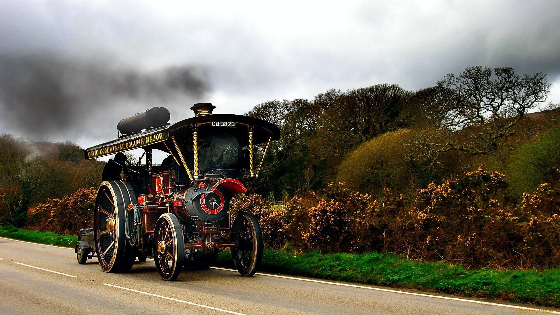 Tractor Wallpaper Oldtimer old tractor vehicle HD Wallpaper 1920x1080