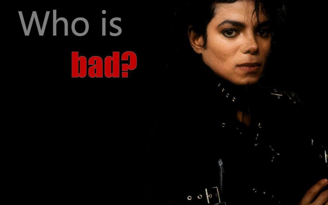 Michael Jackson Bad Wallpaper   7887 1152x720