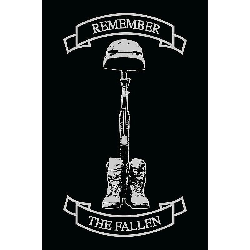 OPSGEAR Remember The Fallen Decal   4 x 6 Signs to make 800x800