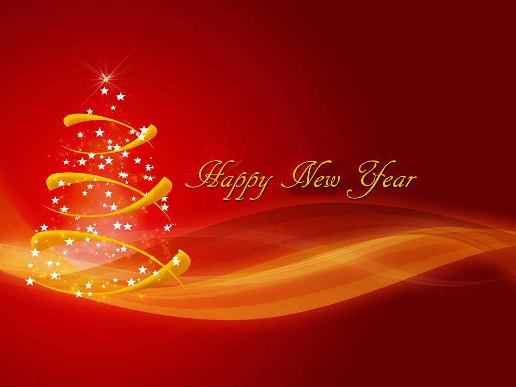 Happy New Year Wallpapers Backgrounds Download 1024x768