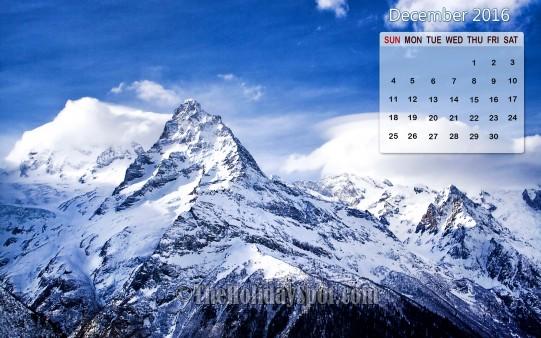 Month wise Calendar Wallpapers Calendar Wallpaper   December 2016 541x338
