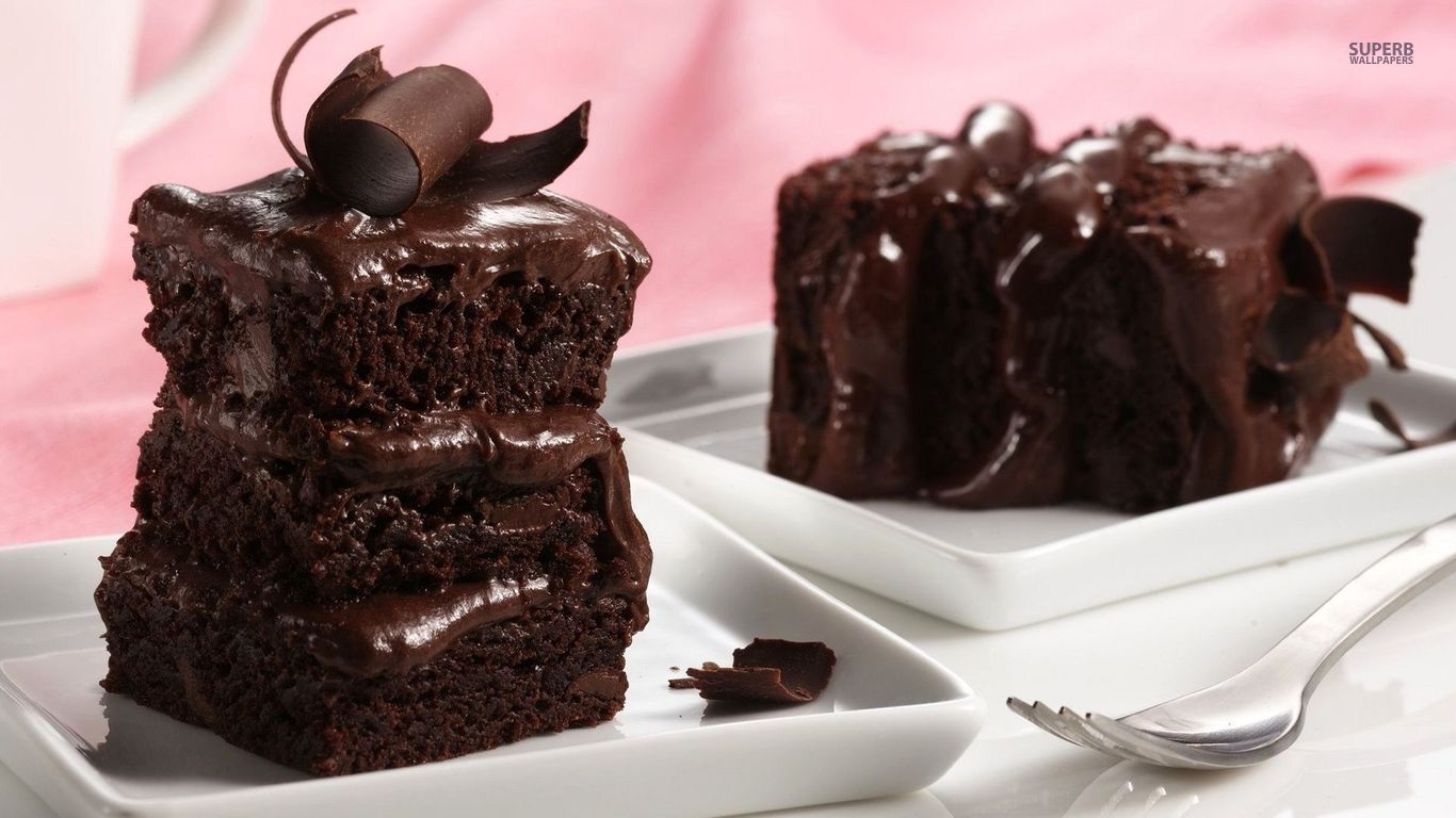 Chocolate Cake Wallpaper 60 Wallpaper 1366x768