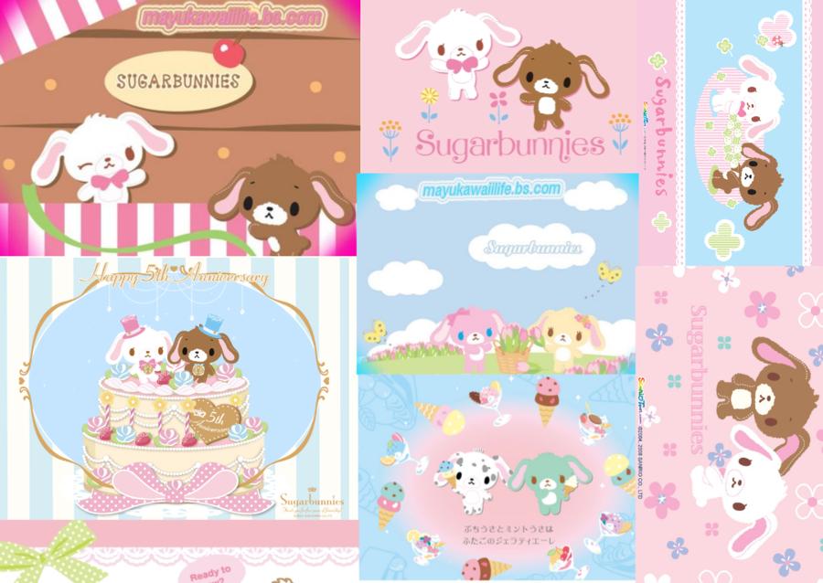 sugar bunnies wallpaper by piinkstrawberries 900x638
