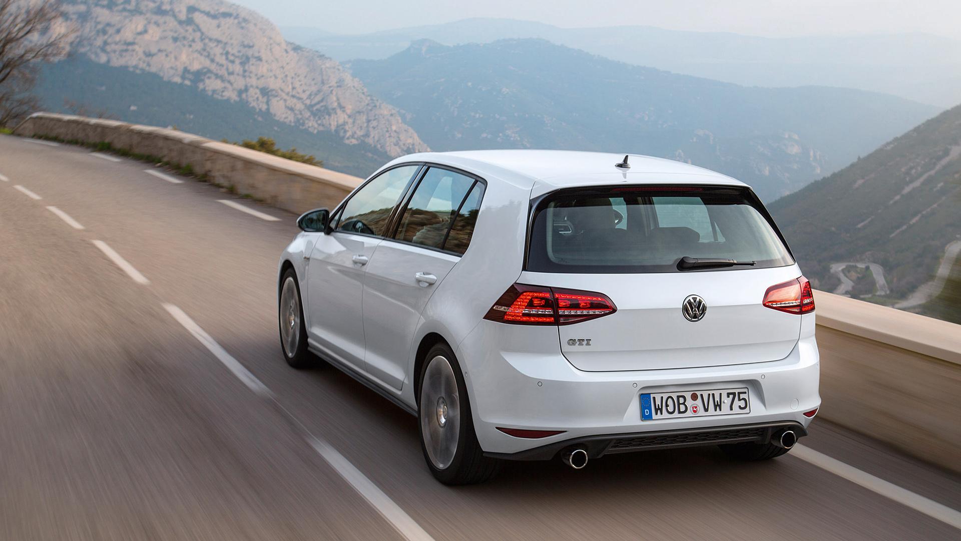 2014 Volkswagen Golf GTI Wallpaper   HD 1920x1080