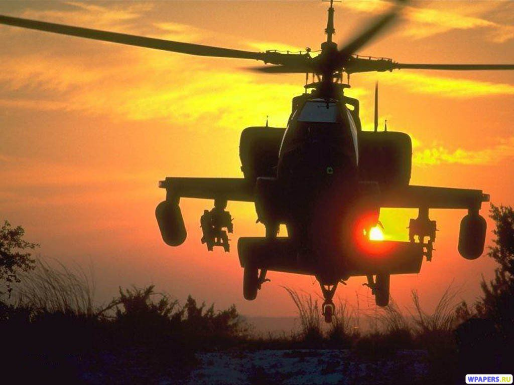 Helicopter AH 64 Apache wallpapers and funny pictures to your desktop 1024x768