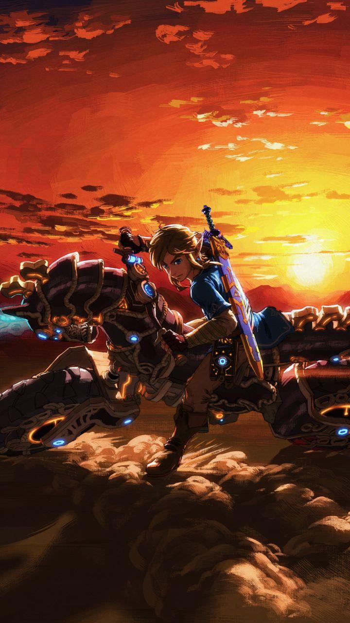 The Legend of Zelda Breath of the Wild master cycle zero bike 720x1280
