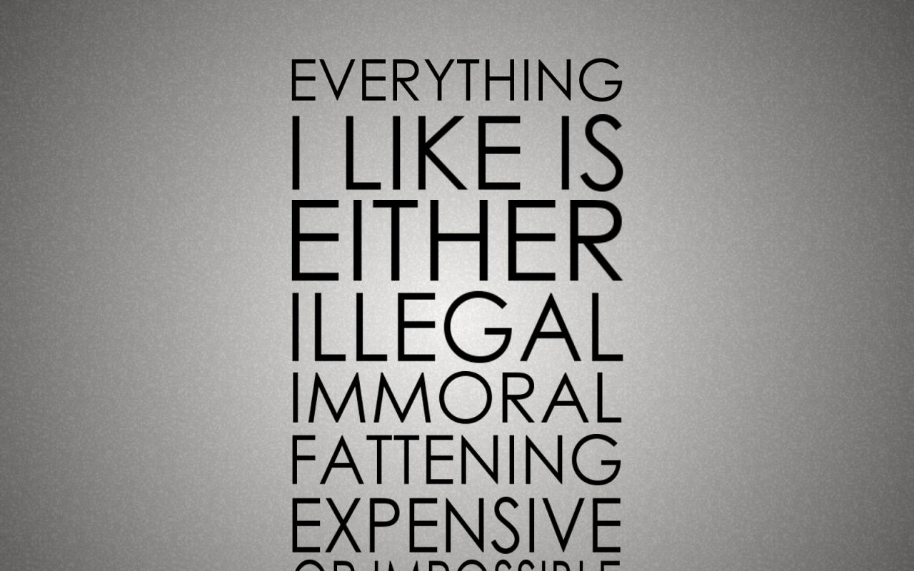 humor quotes typography 1600x1200 wallpaper Wallpaper 1280x800