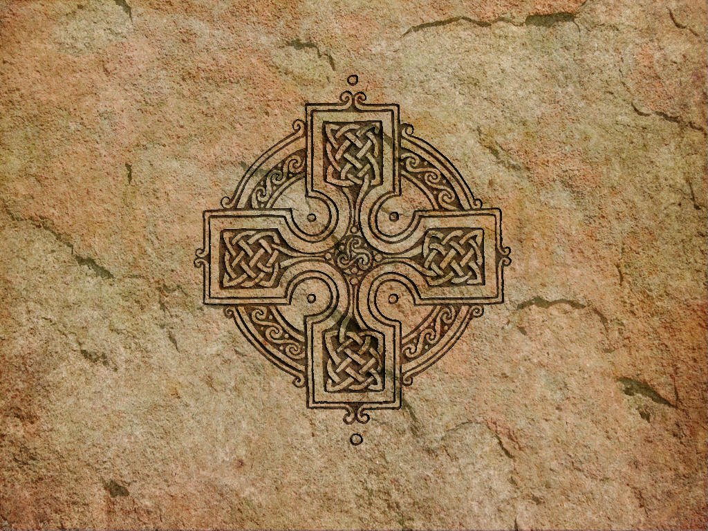 QE 45 Celtic Cross Wallpaper Celtic Cross Full HD 1024x768