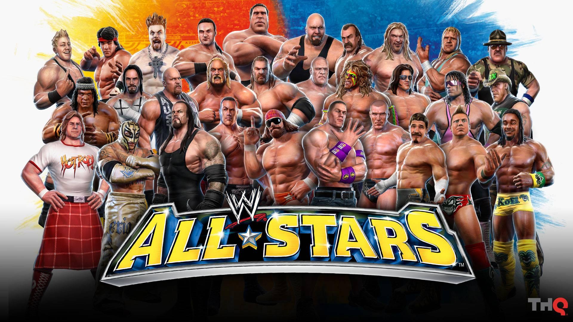 ALL STARS   WWE Smackdown Wallpaper 1920x1080