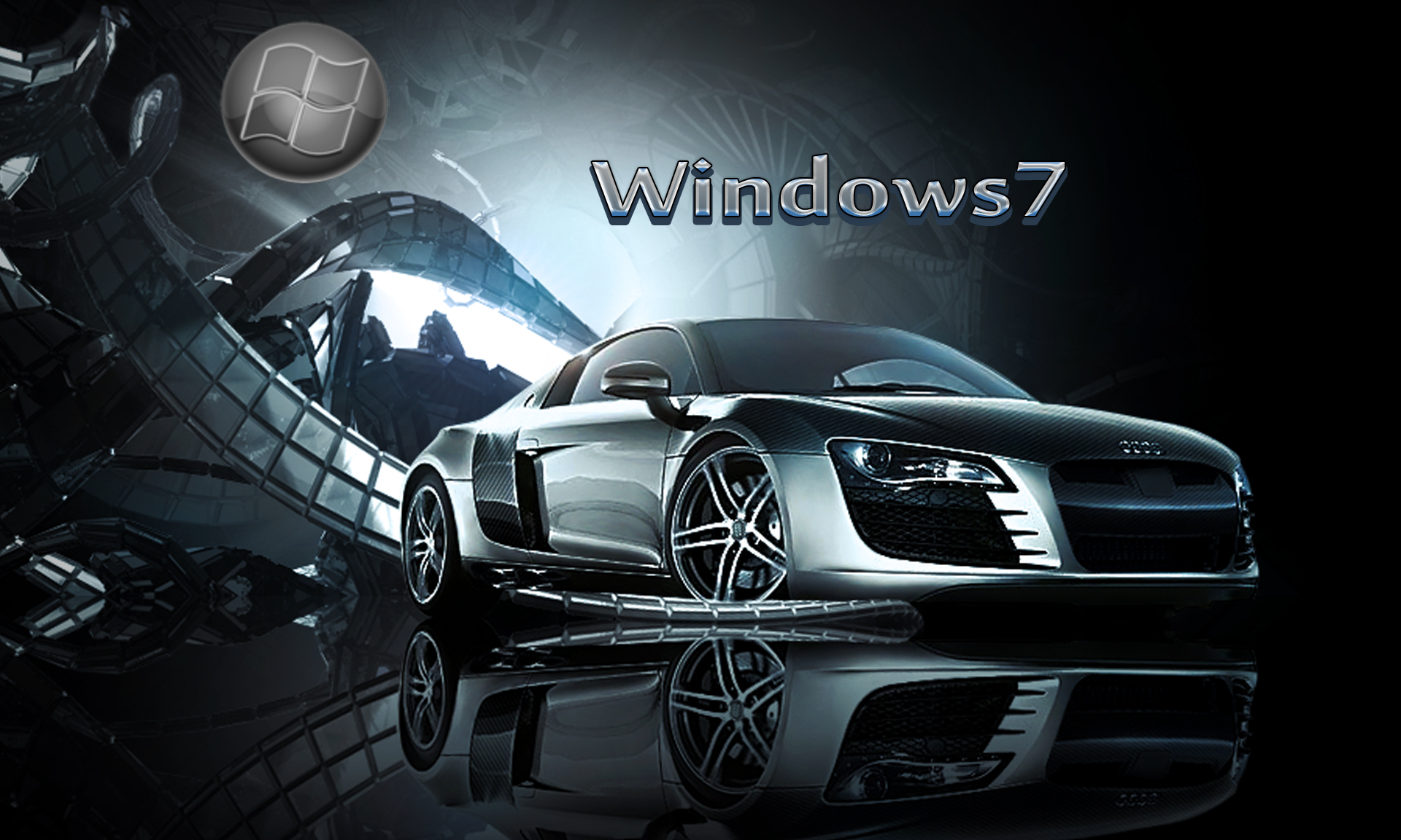 windows7 car wallpaper by kubines customization wallpaper mac pc os 1920x1152
