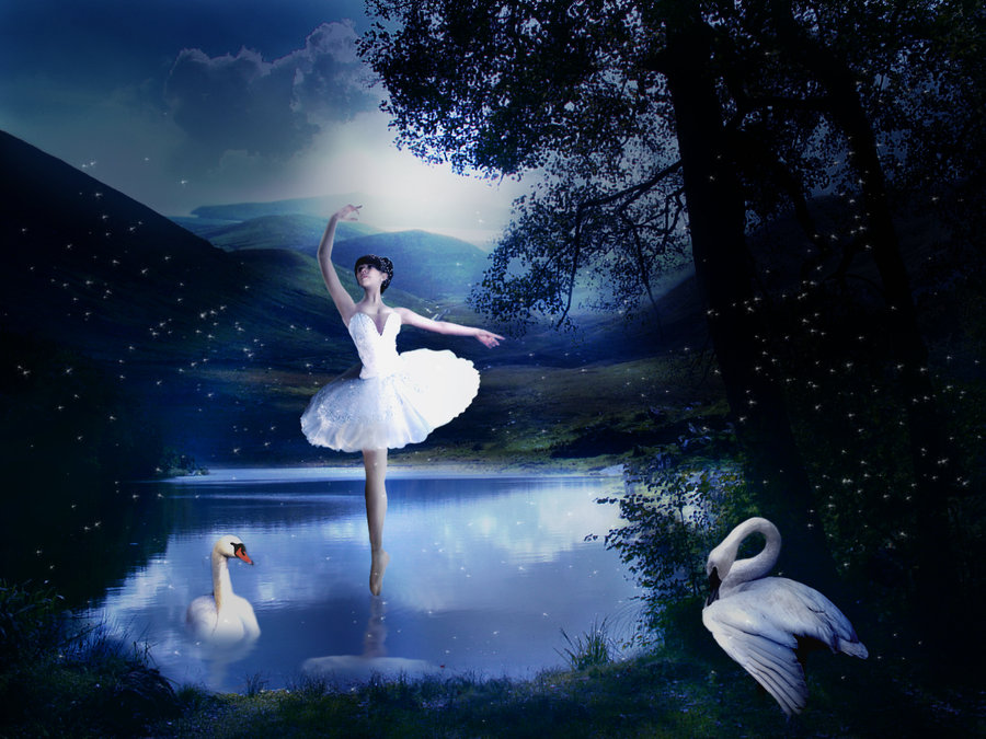 Swan Lake Wallpaper - WallpaperSafari