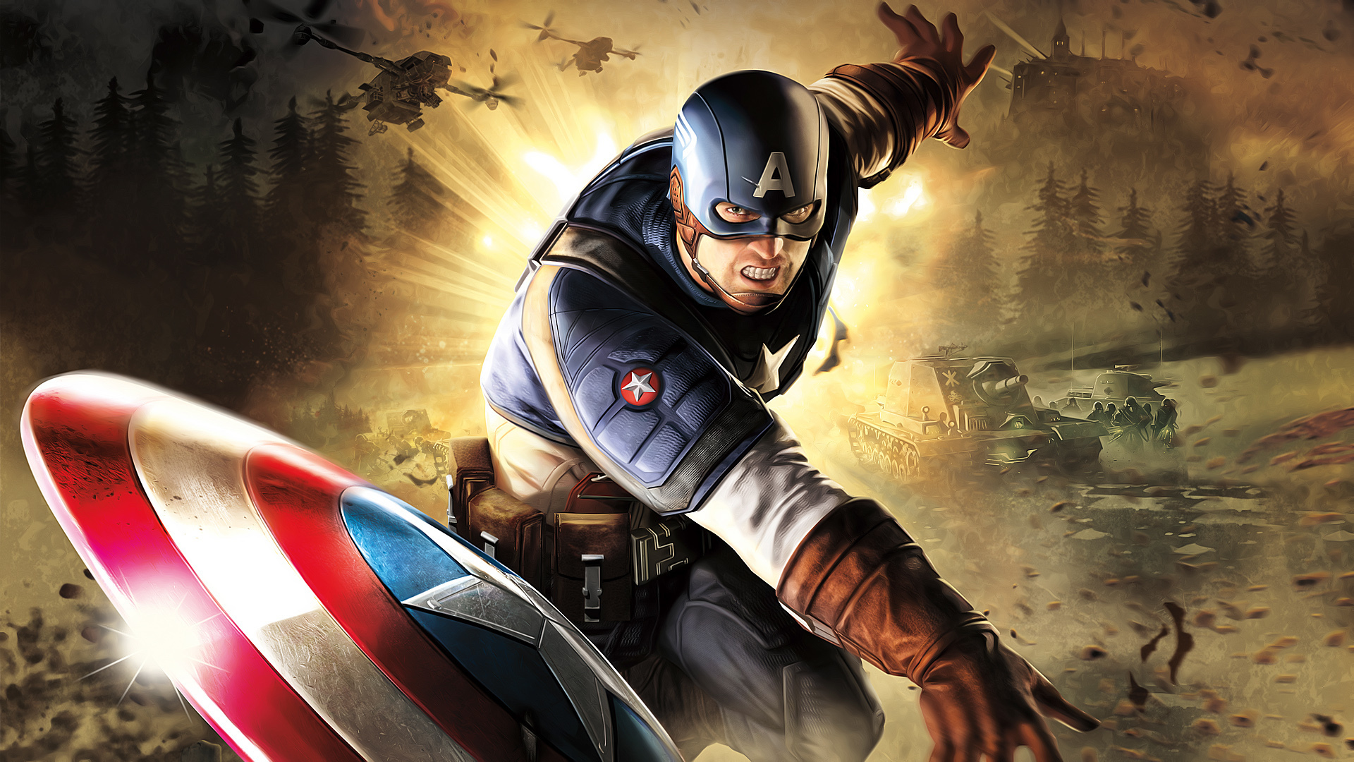 Captain America HD wallpapers download 1920x1080