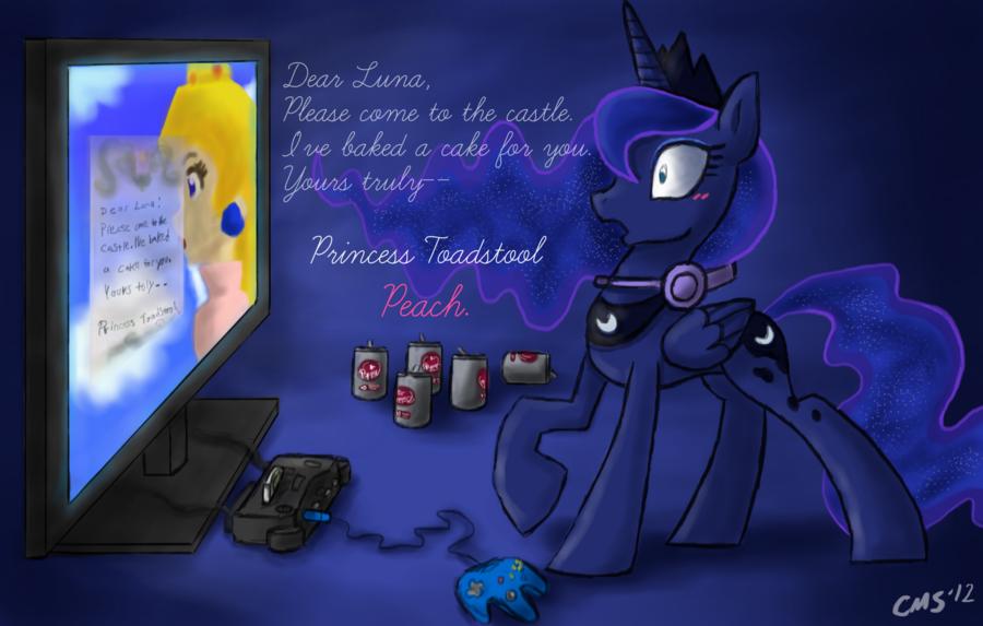 MLP Gamer Luna Wallpaper - WallpaperSafari