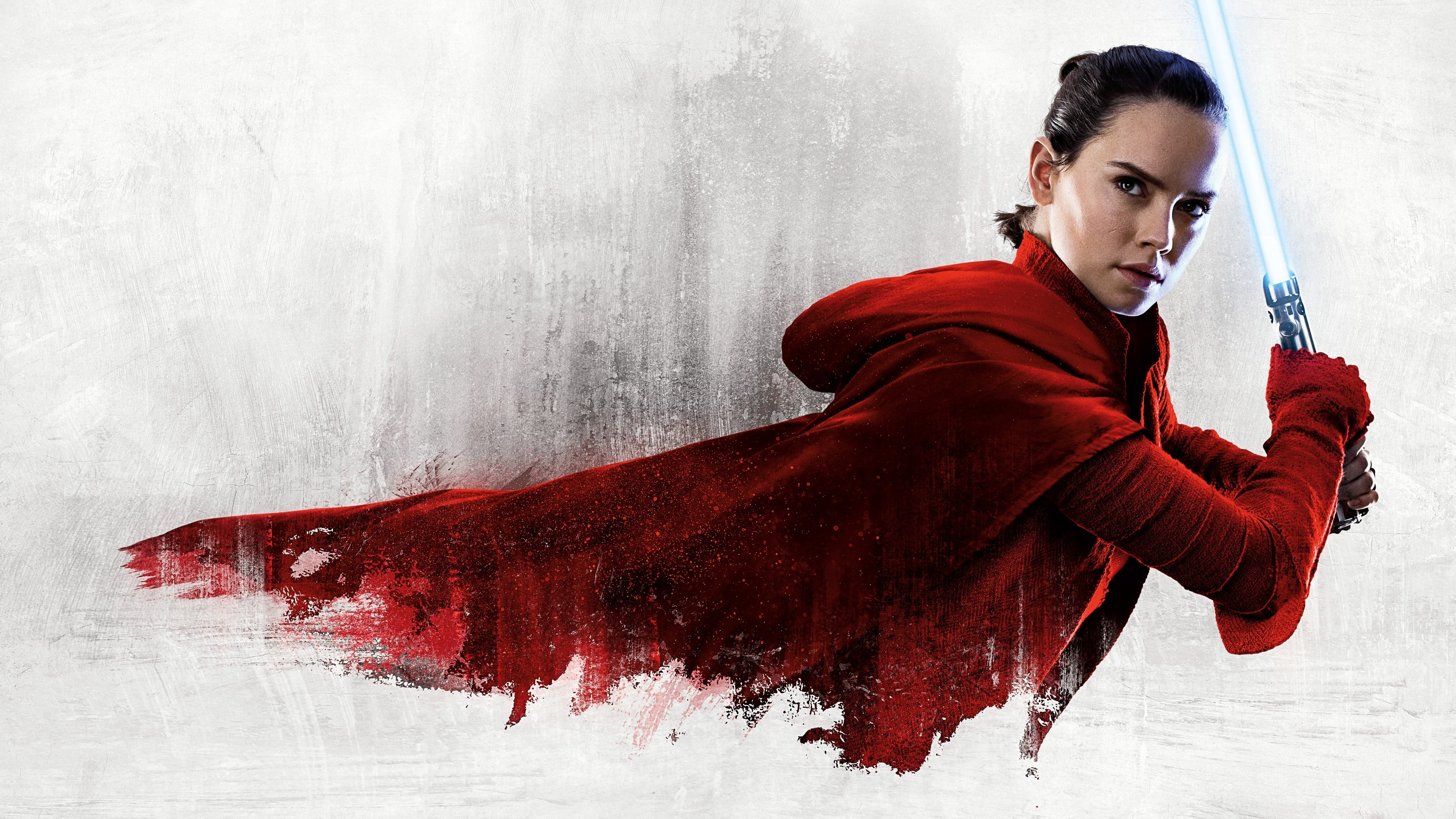 Rey Daisy Ridley Star Wars The Last Jedi 4k 2196 Wallpapers and 3840x2160