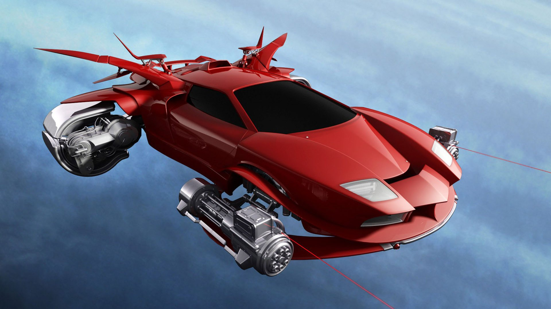 Download Flying Car hd Wallpaper  Unique HD Wallpapers 1920x1080