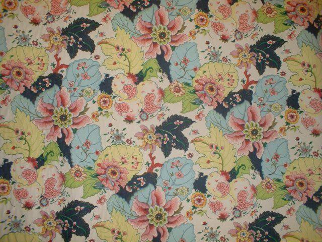 Carlton Varneys Tobacco Leaf Fabric I want this in gift wrap 640x480
