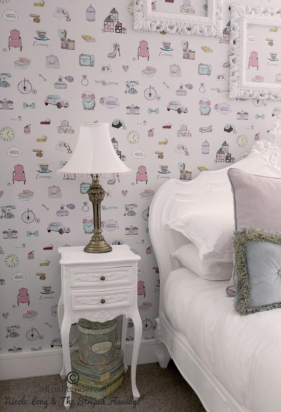 Paris Wallpaper For Bedroom Custom Wallpaper 966x1417