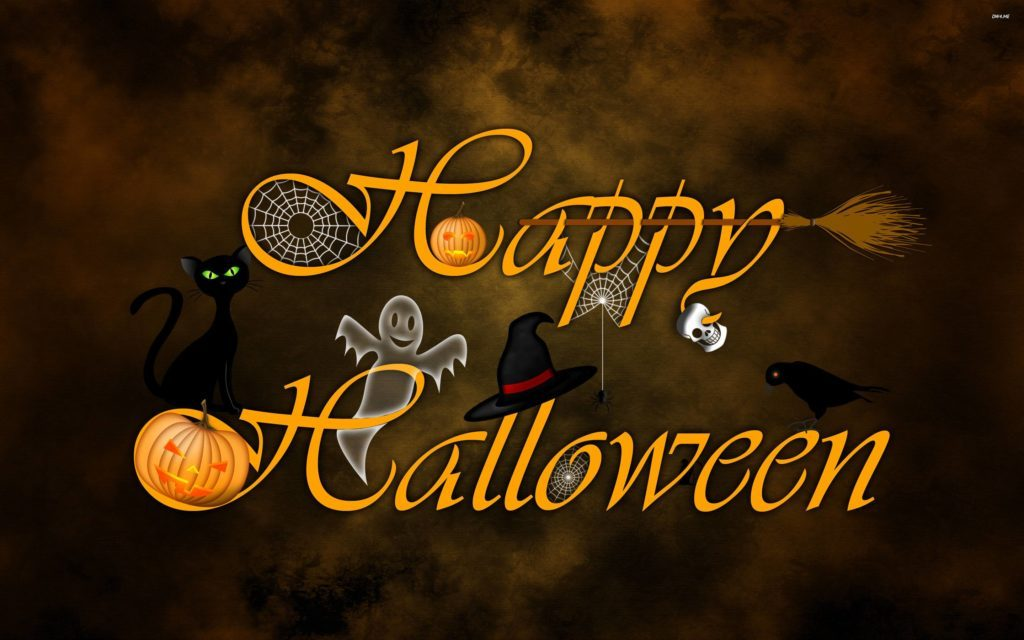 HD] Happy Halloween Wallpapers for Desktop iPhone 1024x640